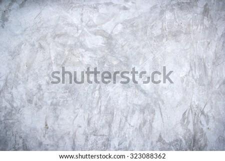 White mortar gray wall texture - stock photo