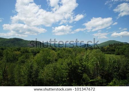 White Mountains of New Hampshire / White Mountains - stock photo