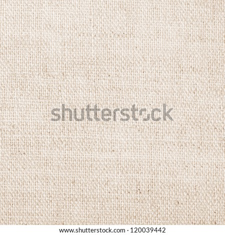 white natural linen texture for the background - stock photo