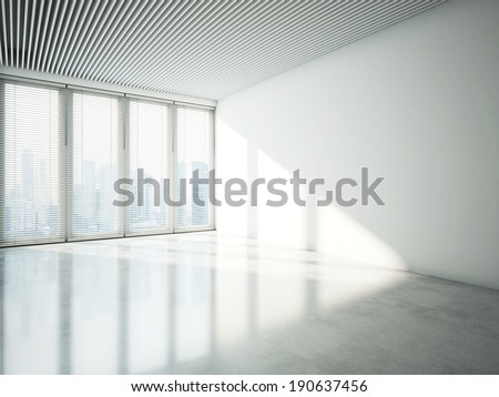 White office - stock photo