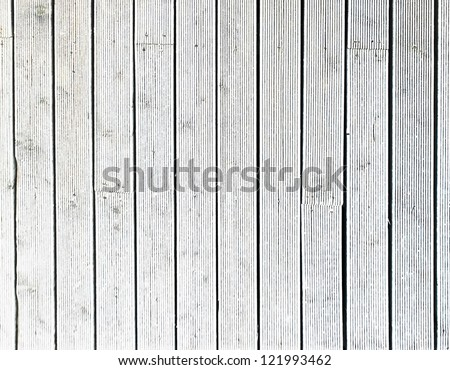 White old weathered boards for industrial background