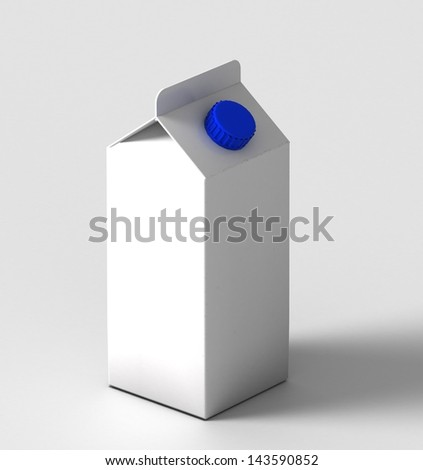 white package with milk