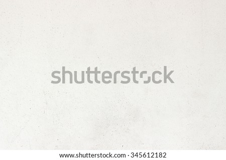 White painted cement wall texture and background - stock photo
