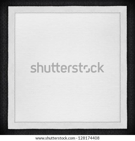 White Paper Background White Canvas Frame Stock Photo & Image ...