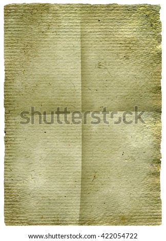 White paper. Old paper texture. Empty paper sheet. Grunge white paper template for text  - stock photo
