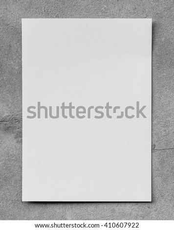 White paper on Gray background isolated,gray cement background.abstract gray background, old dark gray vignette paper border frame on white gray background, vintage grunge background texture design - stock photo