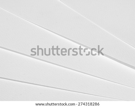 White paper texture close up - stock photo