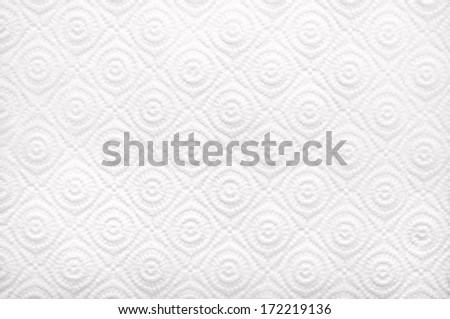 White paper towel (napkin) texture - stock photo