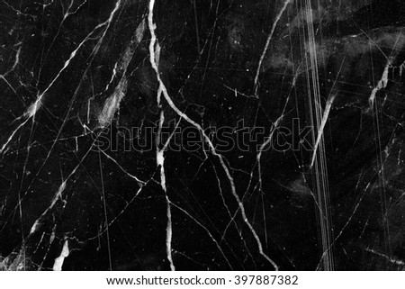 White Pattern structure of black marble pattern for design and texture. - stock photo