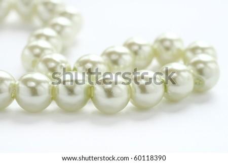 White Pearl - stock photo