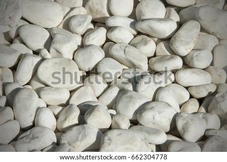 White Pebbles Texture Abstract Wallpaper Background