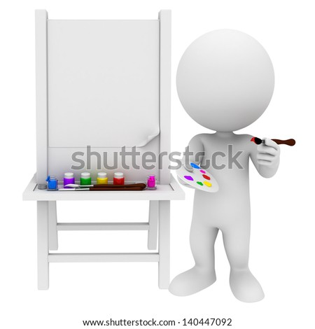 white people with blank board