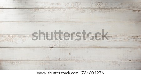 white plank wooden background texture