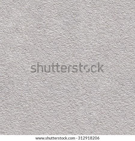 White Plaster Seamless Texture Background - stock photo