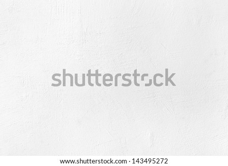 White plaster texture background with grainy detail and relief - stock photo