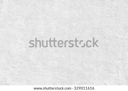 white plaster wall background texture - stock photo