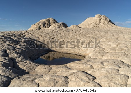 White Pocket area of Vermilion Cliffs National Monument - stock photo
