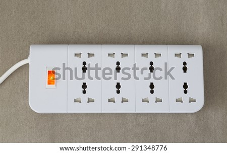 white power cord is working