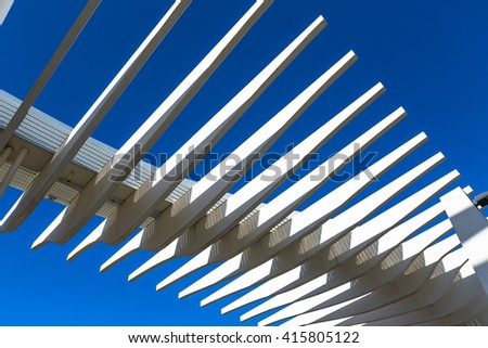 White Roof construction elements