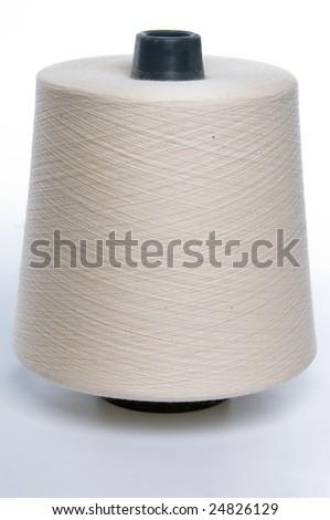White rouge thread - stock photo