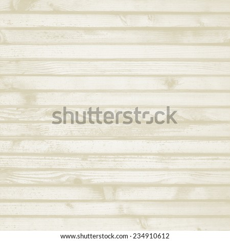 white rustic background blanched wood texture horizontal pattern - stock photo