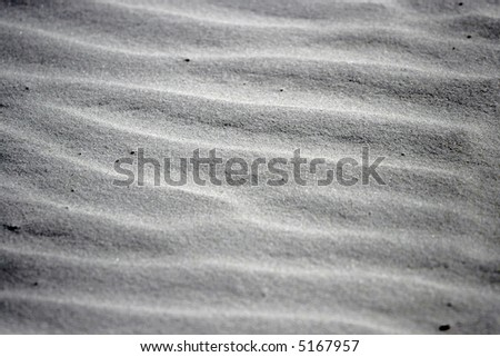 white sand - stock photo