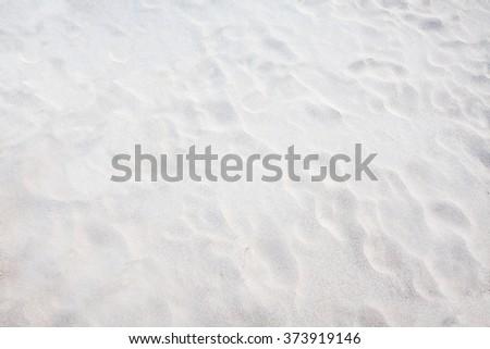 white sand background - stock photo
