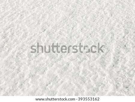 white snow background gives a a harmonic pattern