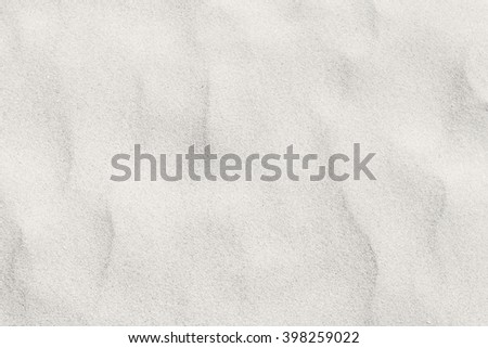 White soft sand background - stock photo