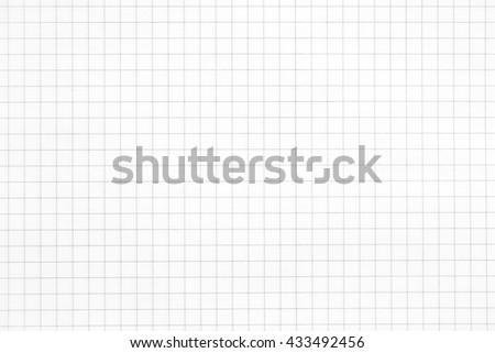White squared paper sheet background - stock photo