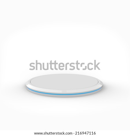 White stand - stock photo