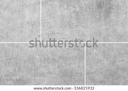 White stone floor texture and seamless background - stock photo