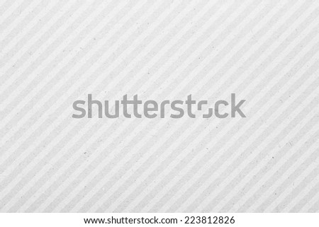 White Striped Paper Texture - stock photo