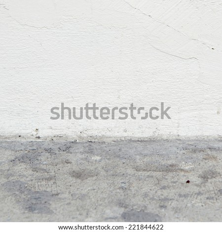 white stucco wall background  - stock photo