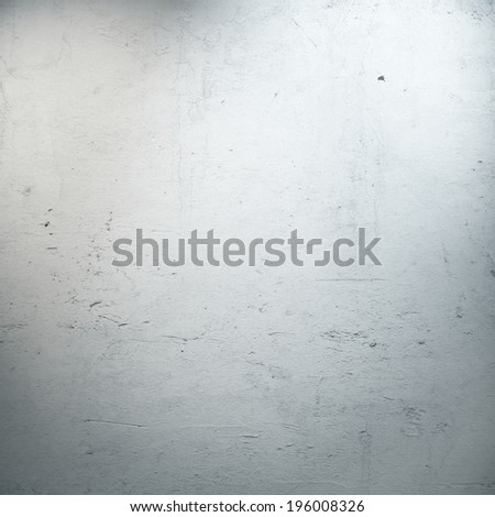 white stucco wall with spotlights - stock photo