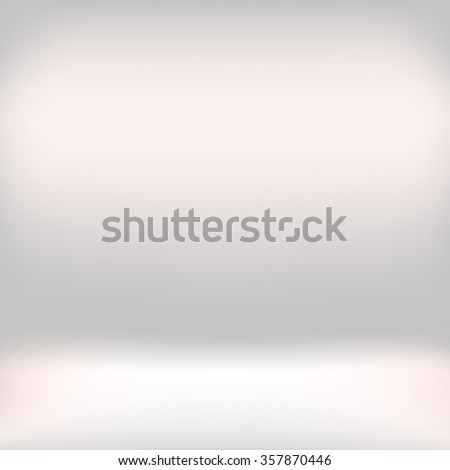 White studio room backdrop background. Empty interior mockup with soft light. Mock up template product display. - stock photo