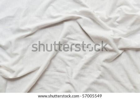 White T shirt pattern - stock photo