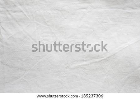 White Textile Background./White Textile Background. - stock photo