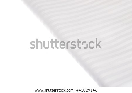 white textile on white background