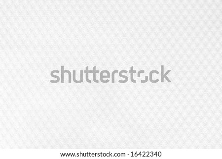 White textured fabric - stock photo