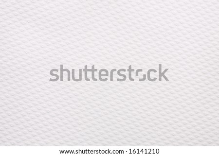 White textured fabric perfect for a background - stock photo