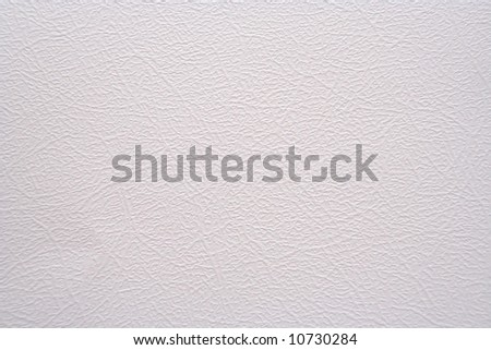 White textured paper, abstract background - stock photo