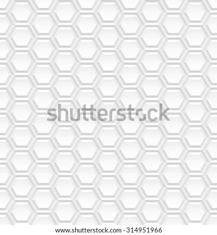 White tile texture - seamless. - stock photo