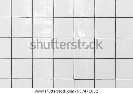 white tiles floor closed up of white glossy ceramic brick tiles floor texture tile