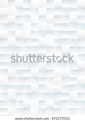 White tiles textured abstract background.  - stock photo