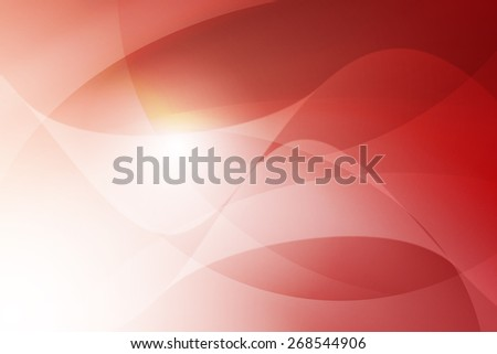 white to red gradient color with swirl line abstract background - stock photo