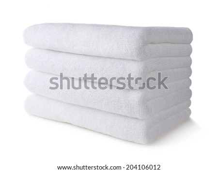 White towel