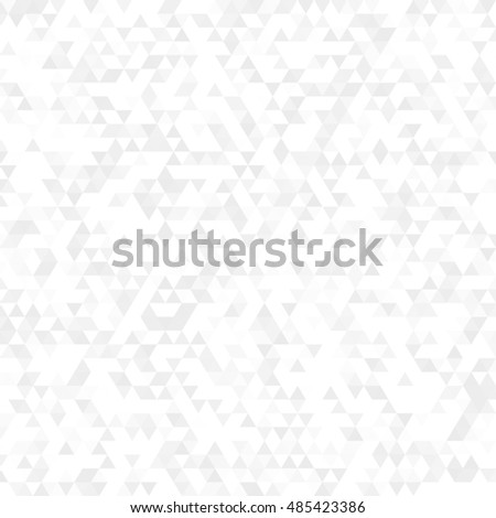 white triangle background