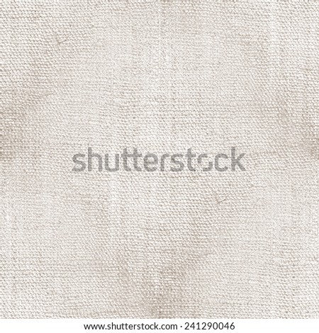 white vintage background - old canvas texture, spots pattern  - stock photo