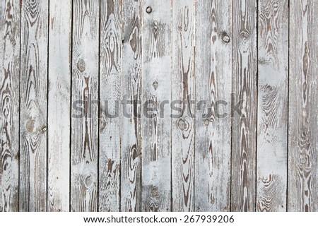 White vintage planks - stock photo